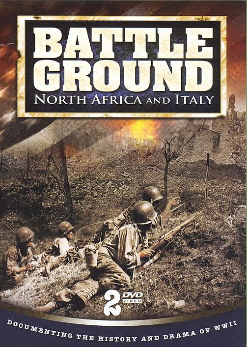 BATTLEGROUND NORTH AFRICA AND ITALY (DVD)
